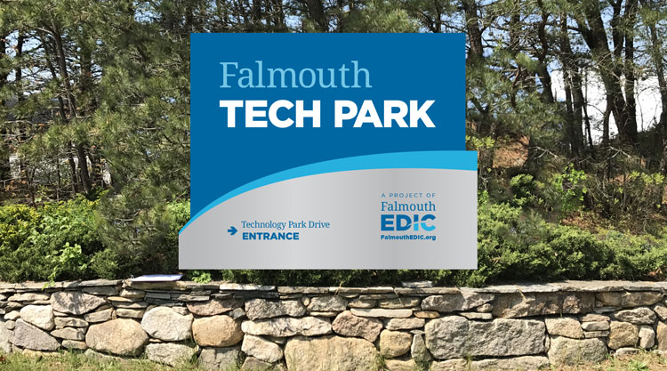 EDIC Sign at Falmouth Tech Park